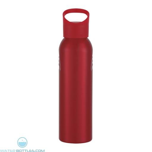 Aluminum Sports Bottles | 20 oz - Red