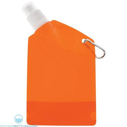 Collapsible Bottles   12 oz - Orange