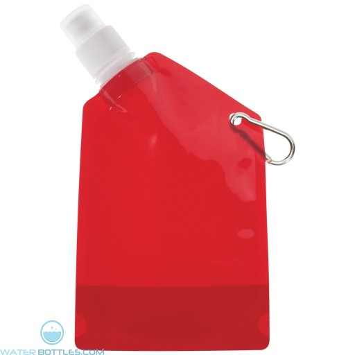 Collapsible Bottles | 12 oz - Red