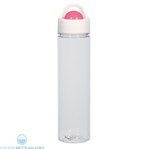 Orbit Bottles | 21 oz - Clear With Pink Roto Ball