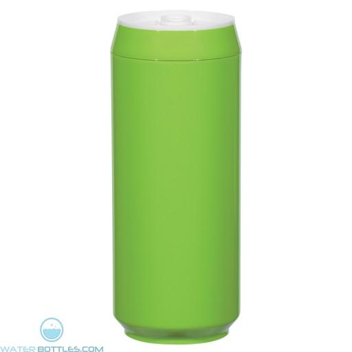 Soda Pop Bottles | 16 oz - Lime Green