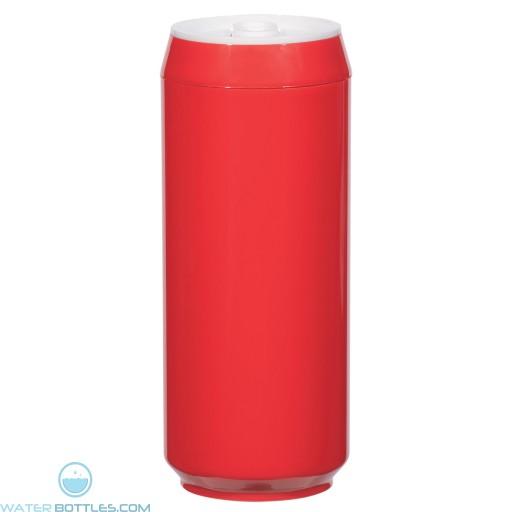 Soda Pop Bottles | 16 oz - Red
