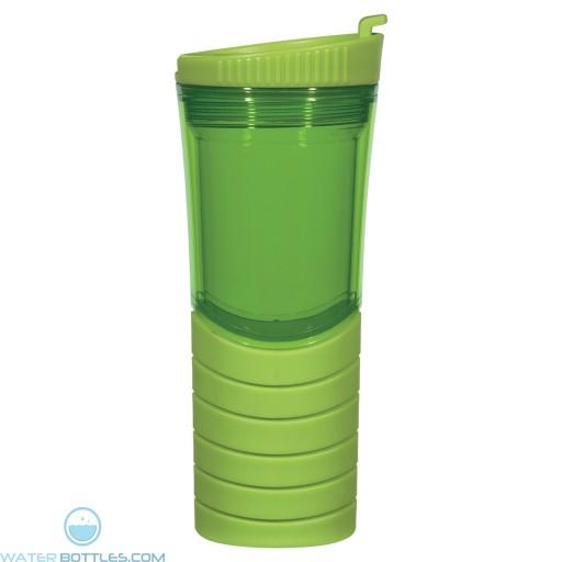 Double Wall Gripper Bottles | 16 oz - Lime Green