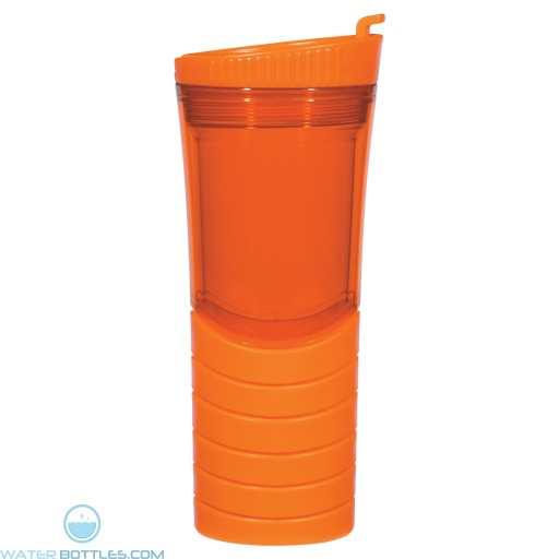 Double Wall Gripper Bottles | 16 oz - Orange