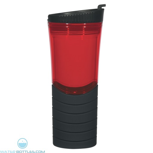 Double Wall Gripper Bottles | 16 oz - Red
