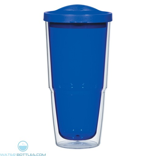 Biggie Tumblers With Lid | 24 oz - Blue