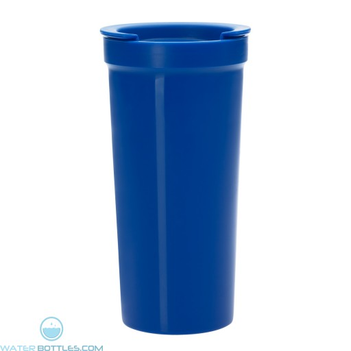 Tumblers With Lock Lid | 16 oz - Blue