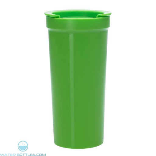 Tumblers With Lock Lid | 16 oz - Lime Green