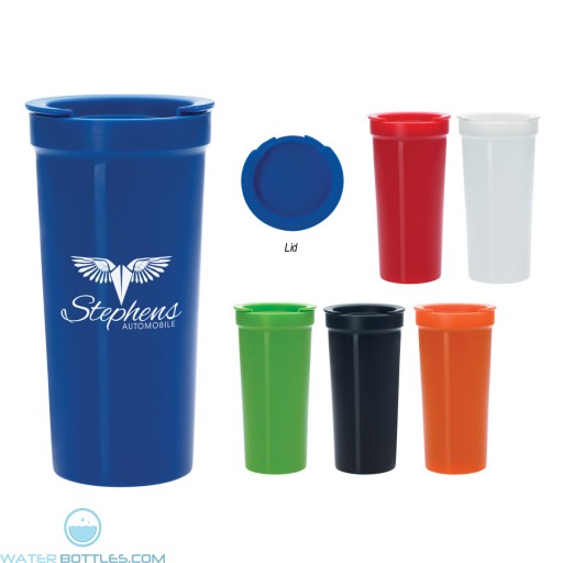 Wholesale Tumblers - Tumbler With Lock Lid | 16 oz