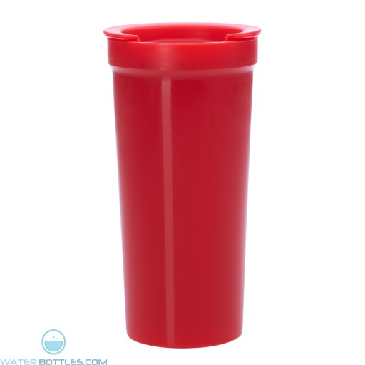 Tumblers With Lock Lid | 16 oz - Red