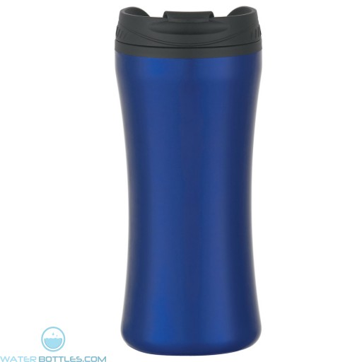 Stainless Steel Double Wall Tumblers | 15 oz - Metallic Blue