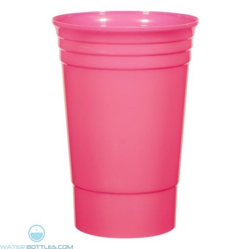 The Designer Cup | 20 oz - Neon Pink