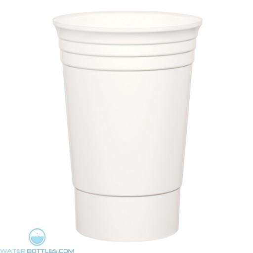The Designer Cup   20 oz - White