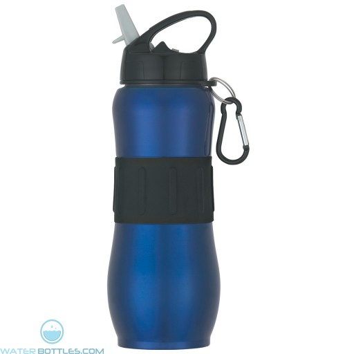 Stainless Steel Sport Grip Bottles | 28 oz - Blue