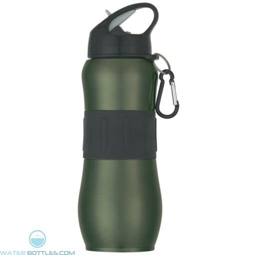 Stainless Steel Sport Grip Bottles | 28 oz - Green