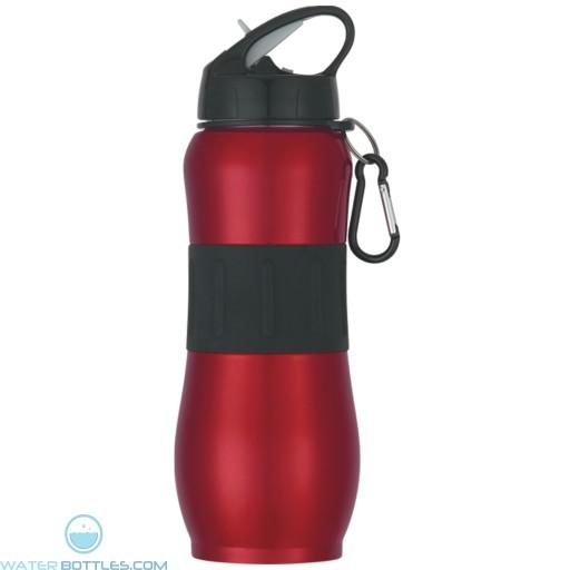 Stainless Steel Sport Grip Bottles | 28 oz - Red