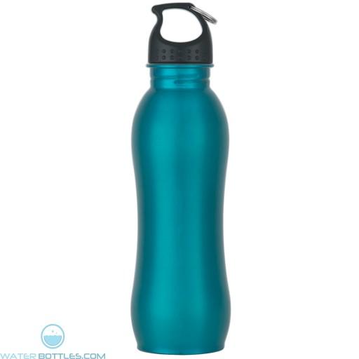 Stainless Steel Grip Bottles   25 oz - Teal