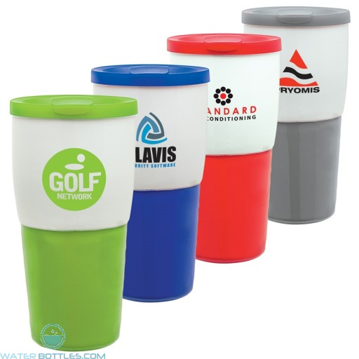 Personalized Tumblers - Custom Ceramic Travel Tumbler | 15 oz
