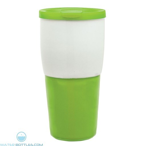 Ceramic Travel Tumblers | 15 oz - Lime Green