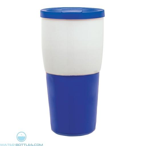 Ceramic Travel Tumblers | 15 oz - Blue
