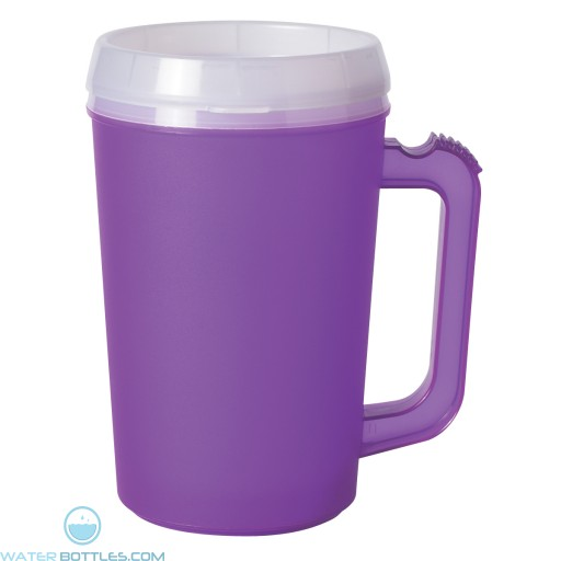 Thermo Insulated Mugs | 22 oz - Purple