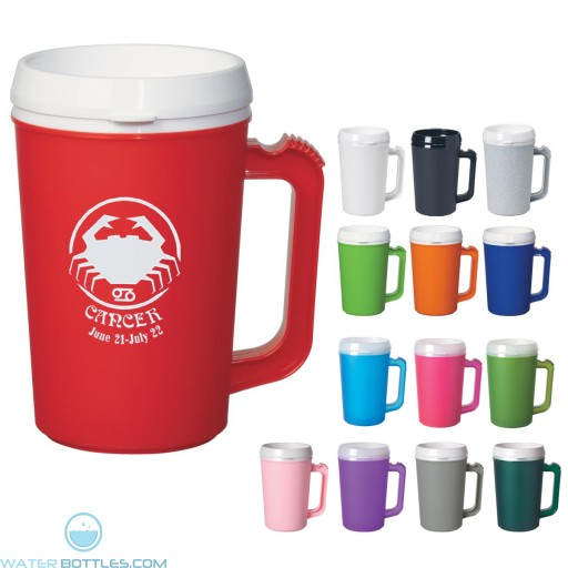 Custom Logo Mugs - Thermo Insulated Mug | 22 oz
