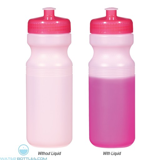 Color Changing Bottles | 24 oz - Pink