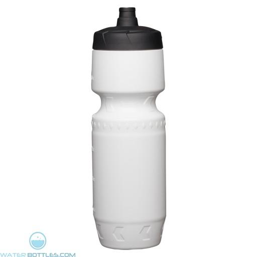 Proshot Water Bottles | 24 oz - White with Black Lid