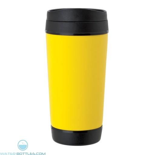 Perka Insulated Mugs   17 oz - Yellow