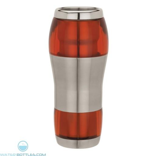 Acrylic / Stainless Steel Tumblers | 16 oz - Orange