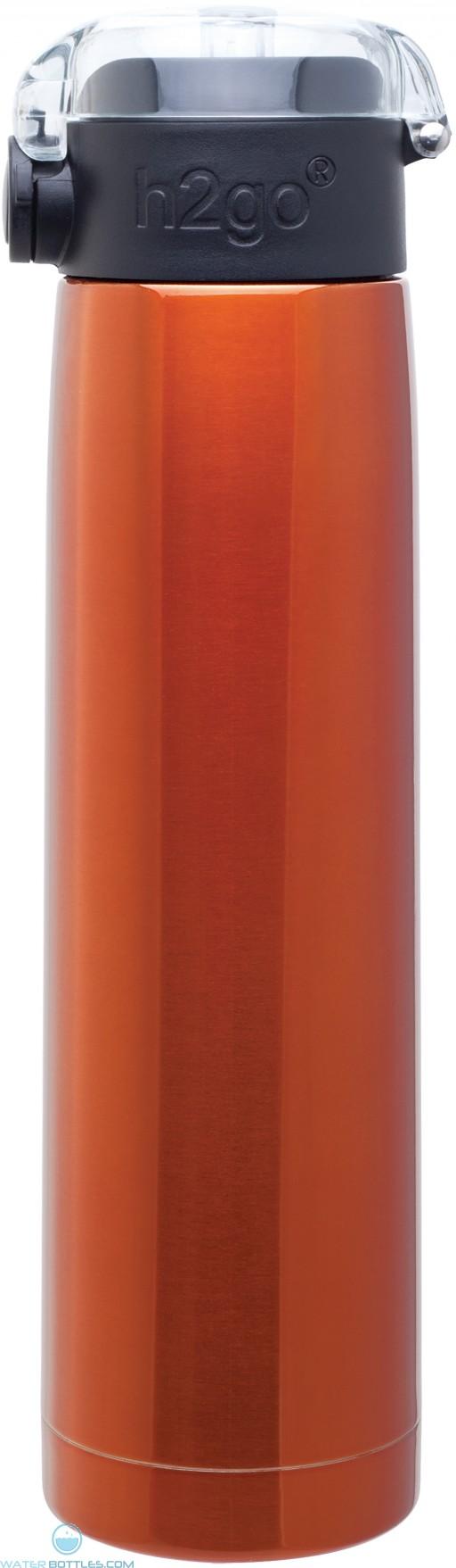 H2Go Aspen Stainless Steel Water Bottles | 24 oz - Orange