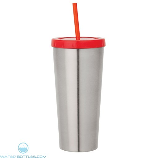 Double Wall Tumblers | 16 oz - Red