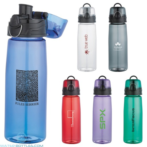 Personalized Sports Water Bottles - Capri Tritan Sports Bottles | 25 oz