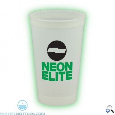 Promotional Cups - 20 oz. Glow in the Dark Stadium Cup
