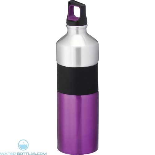 Nassau Aluminum Sports Bottles   25 oz - Purple