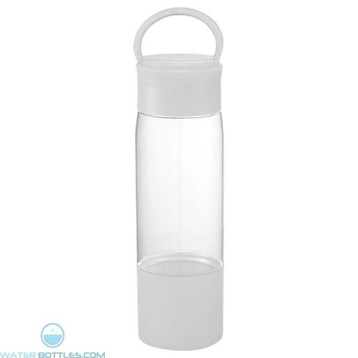 Color Band Tritan Sports Bottles | 22 oz - White