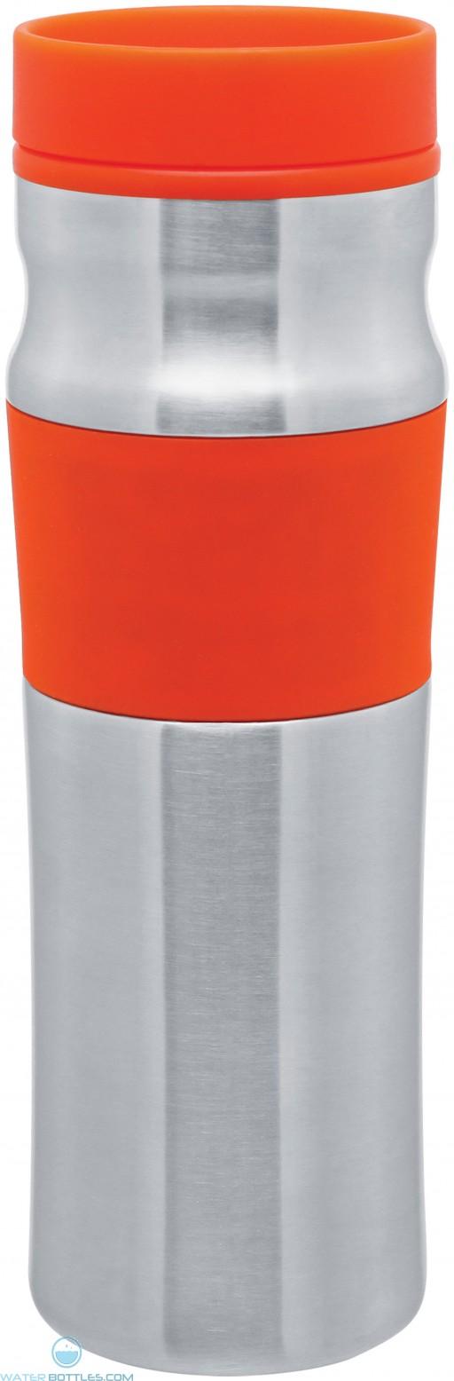 Stainless Steel Milo Tumblers   16 oz - Orange