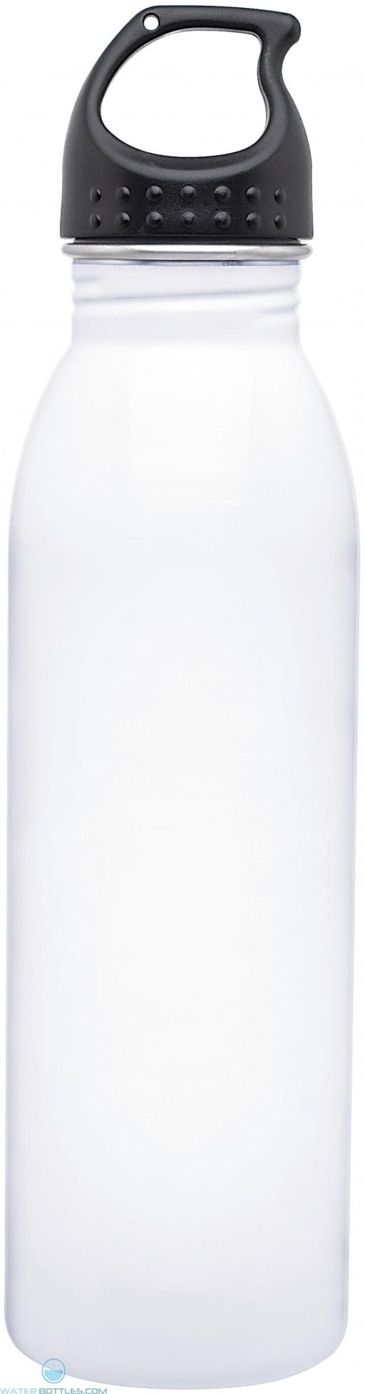 H2Go Solus Water Bottles   24 oz - White
