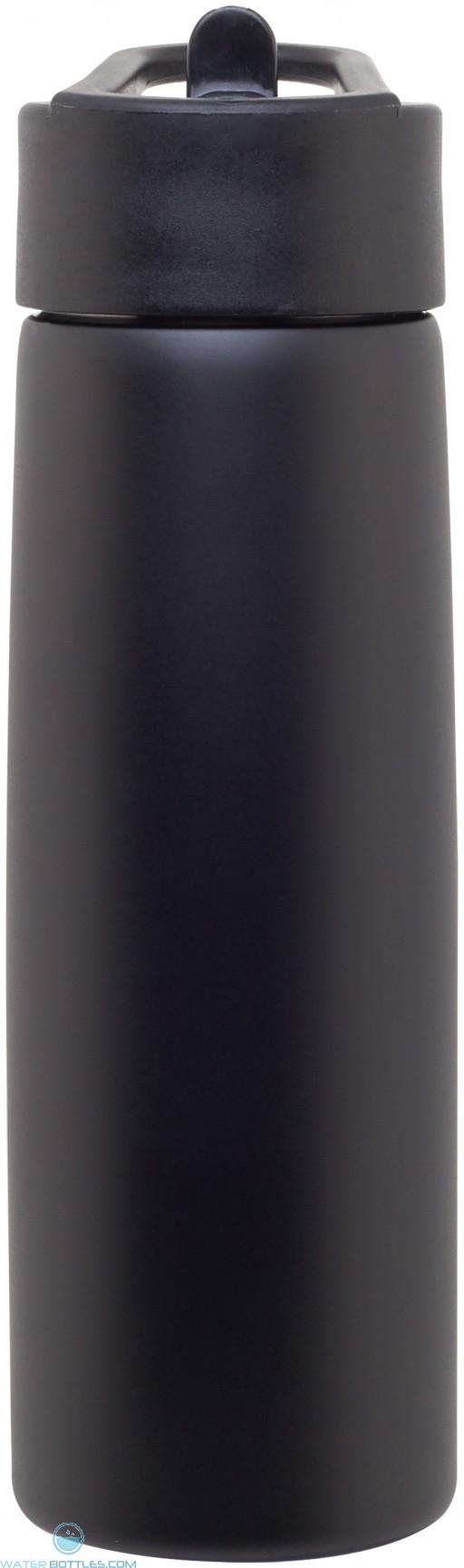 H2Go Hydra Water Bottles | 24 oz - Matte Black