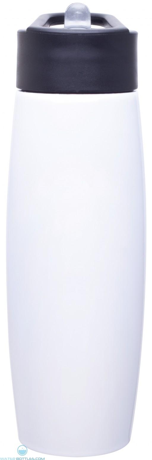 H2Go Orbit Water Bottles   25 oz - White