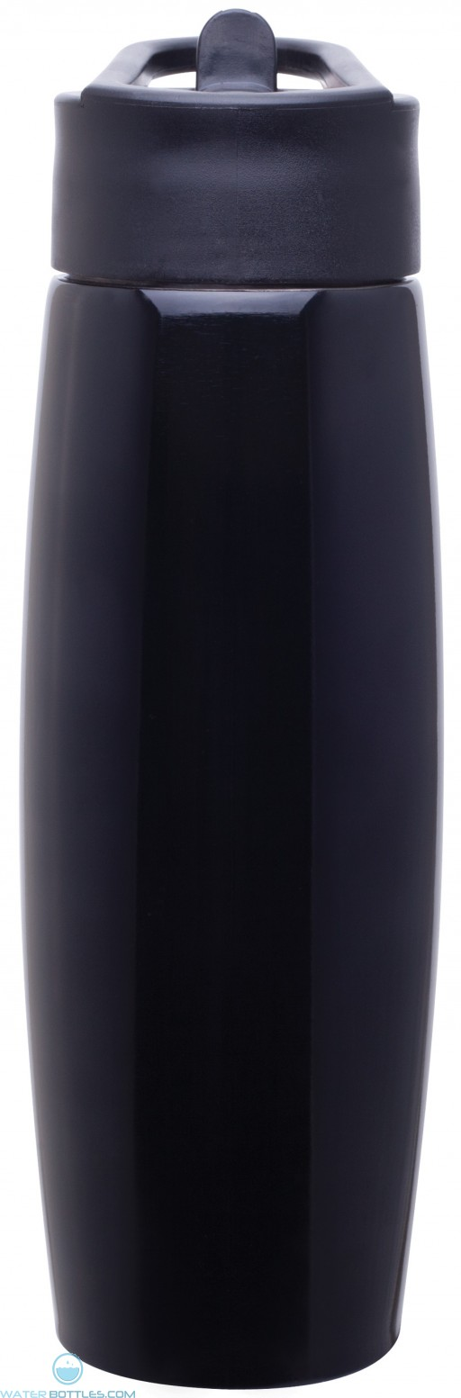 H2Go Orbit Water Bottles   25 oz - Black