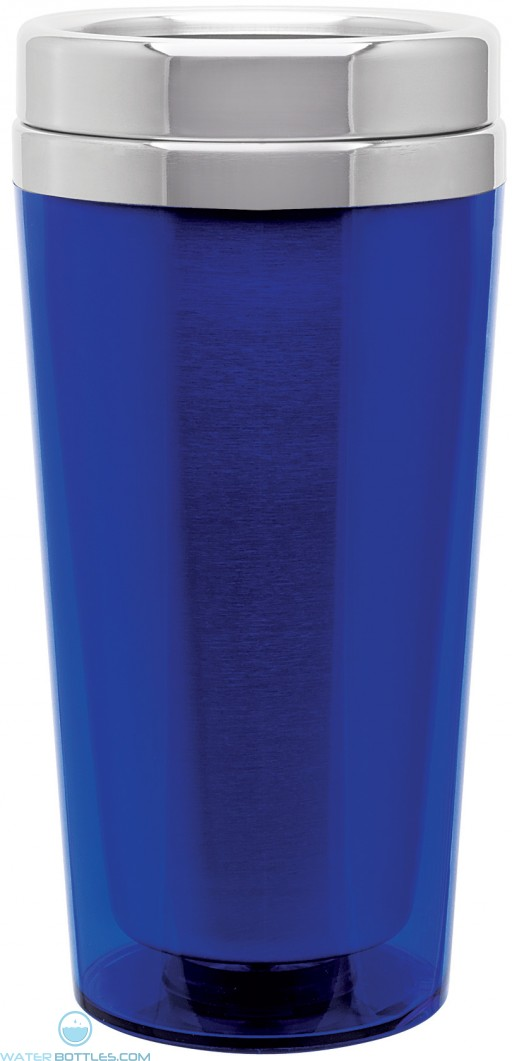Classic Double Wall Tumblers   16 oz - Blue