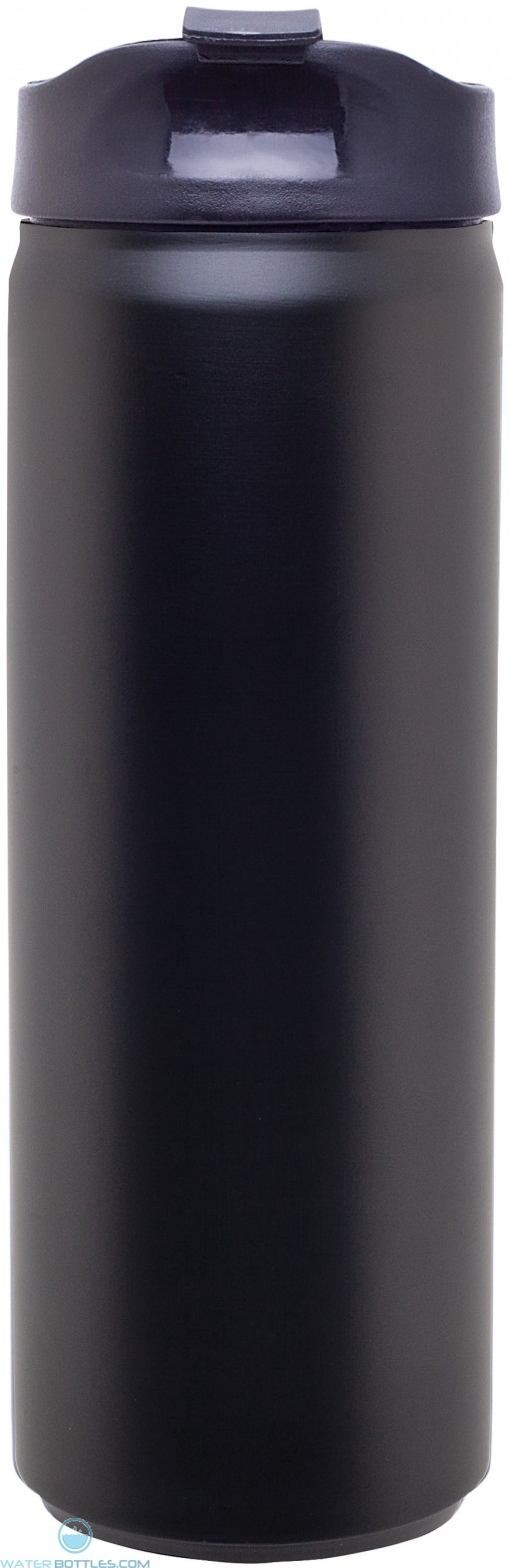 Stainless Steel Thermal Can   16 oz - Matte Black