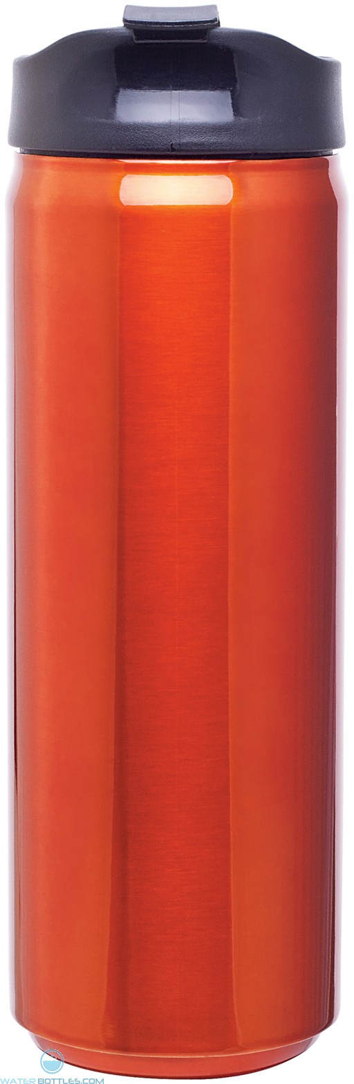 Stainless Steel Thermal Can | 16 oz - Orange