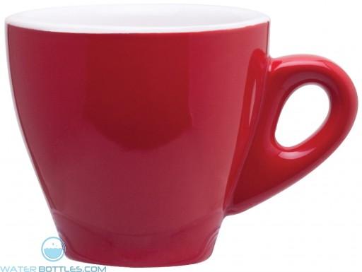3 oz demi mugs-red