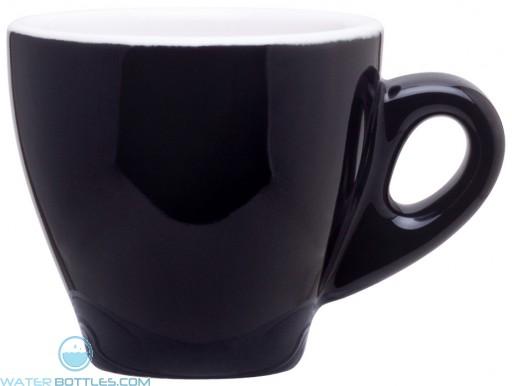 3 oz demi mugs-black