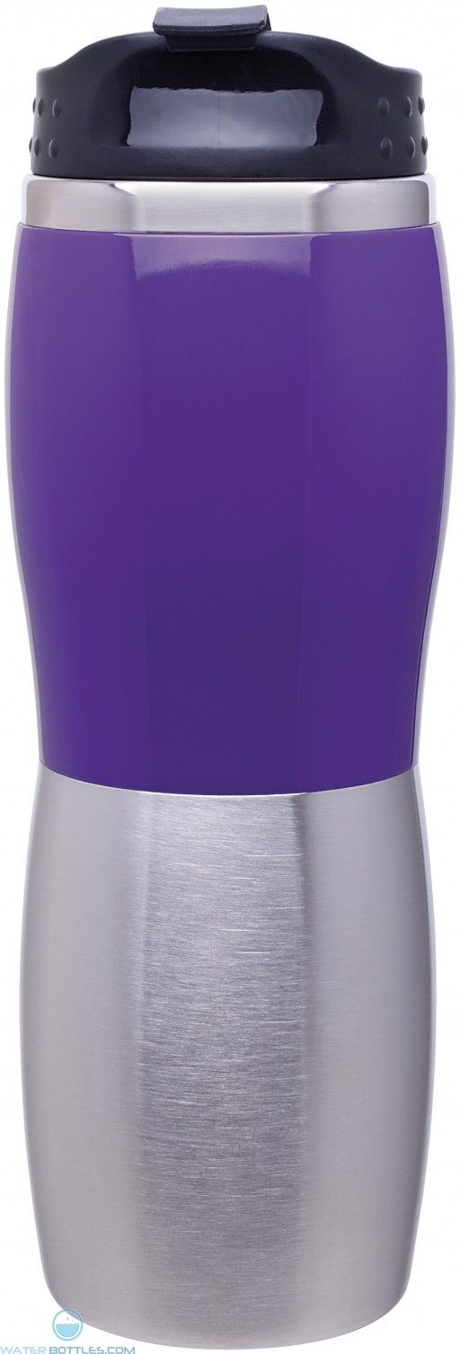 16 oz cali fusion tumbler-purple