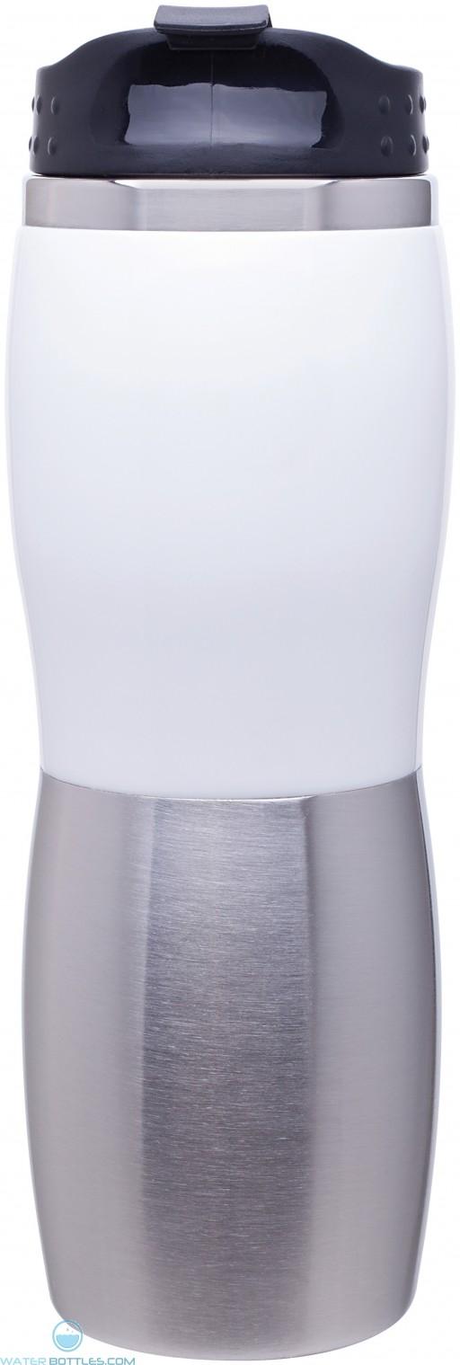 Cali Fusion Foam Insulated Tumblers | 16 oz - White