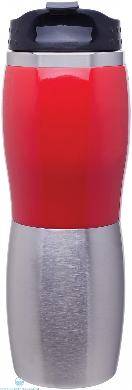 Cali Fusion Foam Insulated Tumblers   16 oz - Red