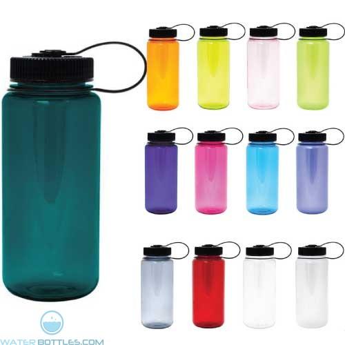 Personalized Logo Water Bottles - Nalgene Wide Mouth Water Bottle   16 oz